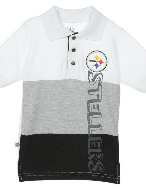 Playera tipo polo NFL algodón para niño 19cf76ad246