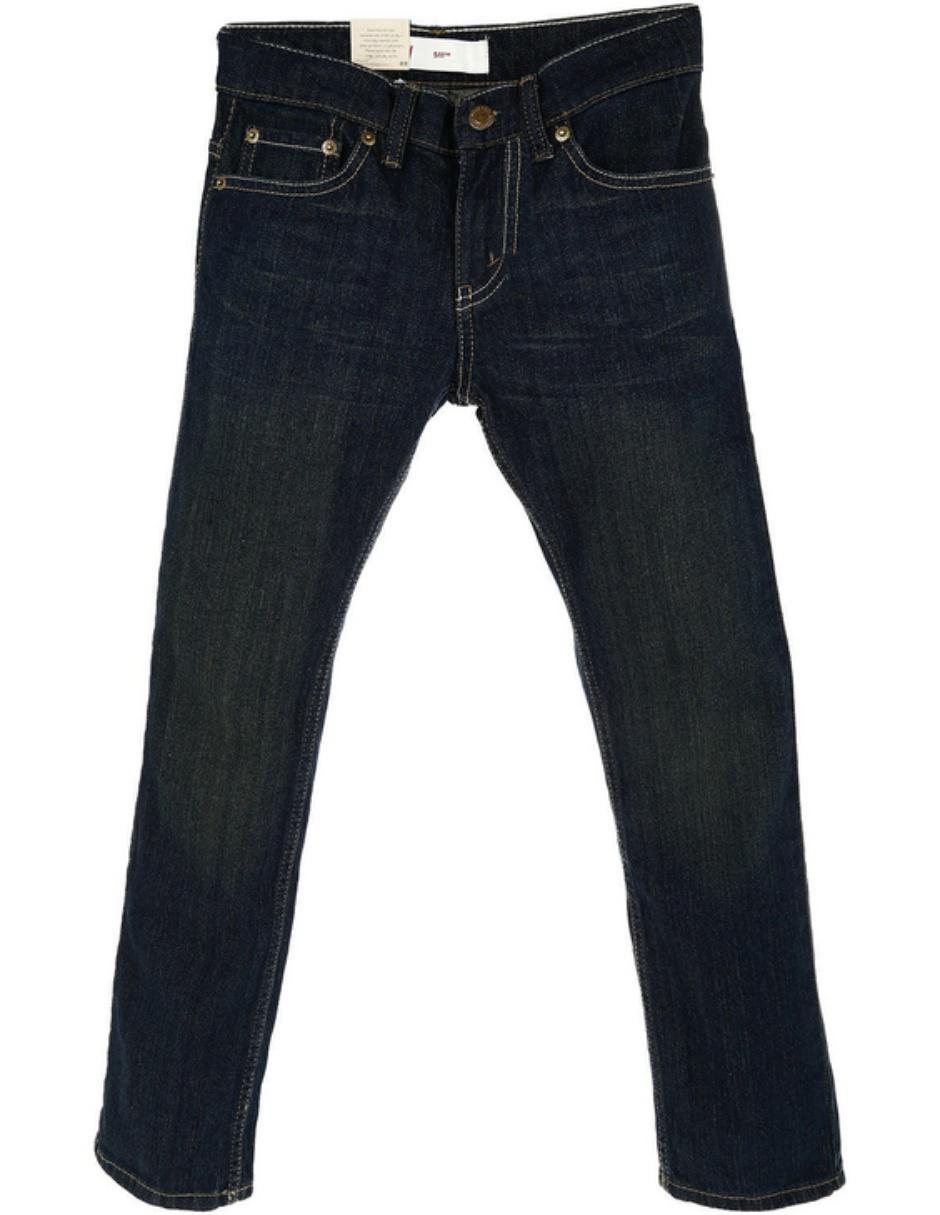 Pantalón liso Levi\'s de mezclilla para niño