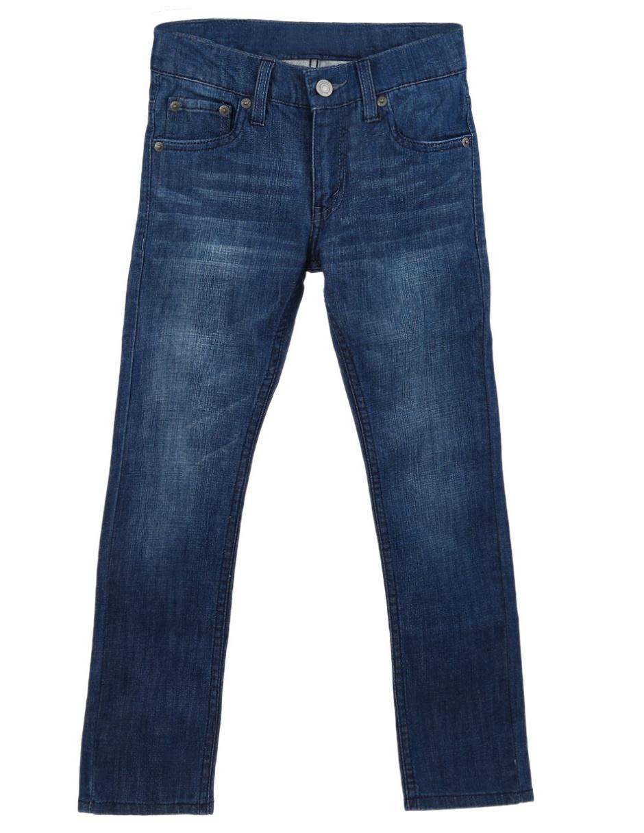 1fdf982e38 Jeans liso Levi s de mezclilla para niño